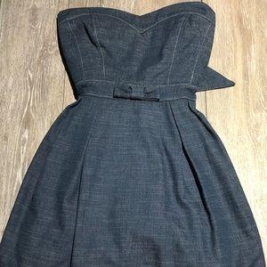 Navy blue denim Ruby Rox dress size 7